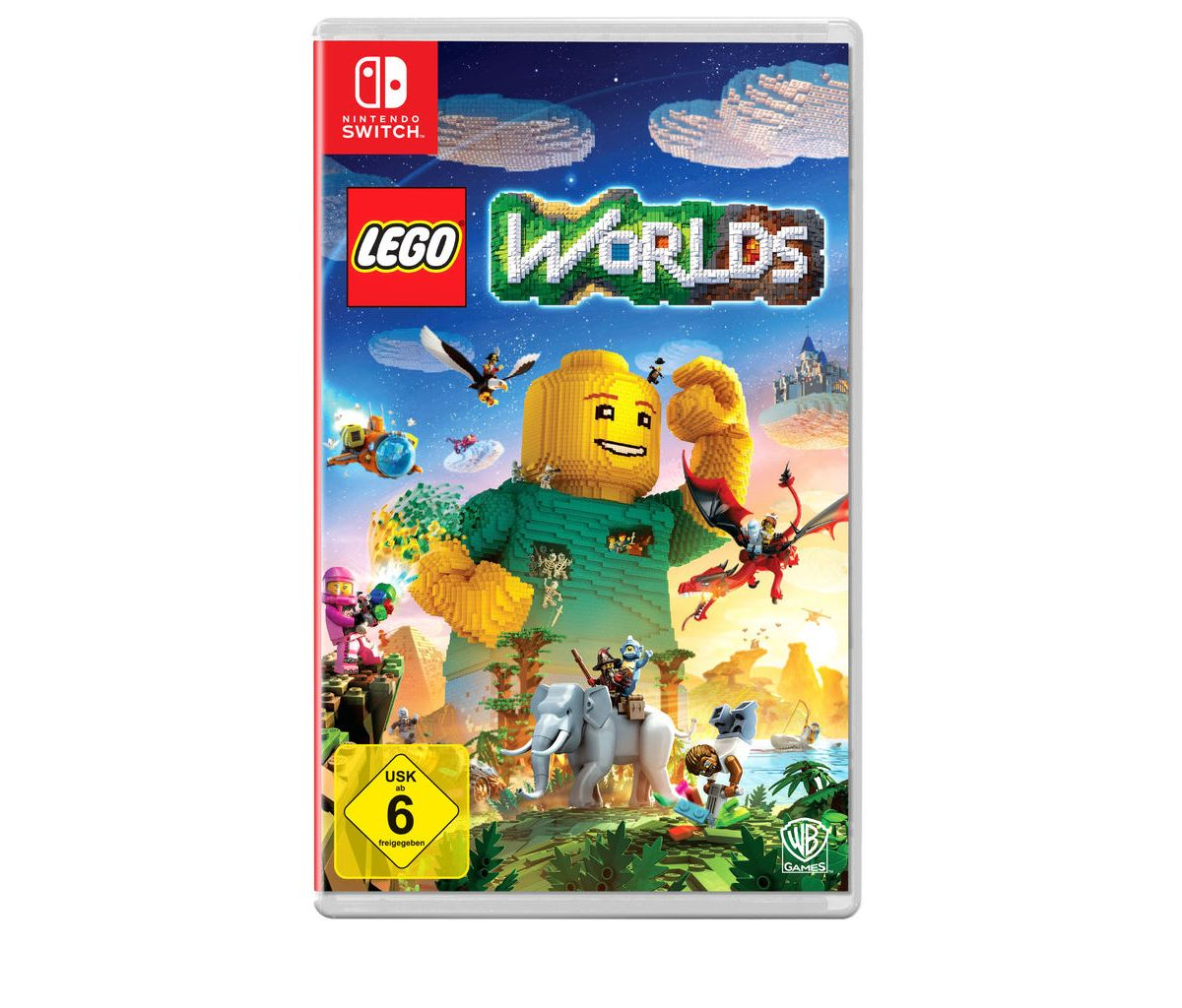 Warner Games Nintendo Switch - Spiel »LEGO Worlds«