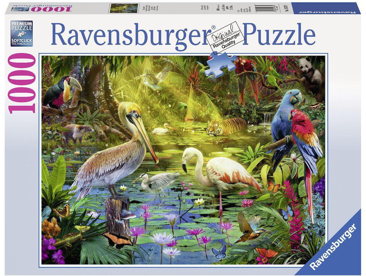 Ravensburger Puzzle, 1000 Teile, »Vogelparadies«
