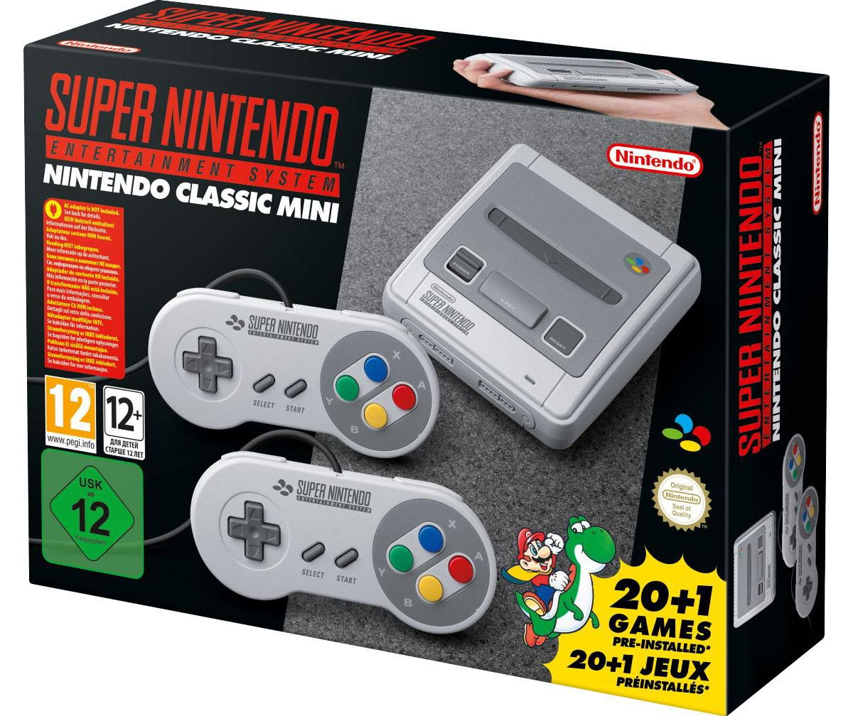 Nintendo Classic Mini: Super Nintendo Entertain...