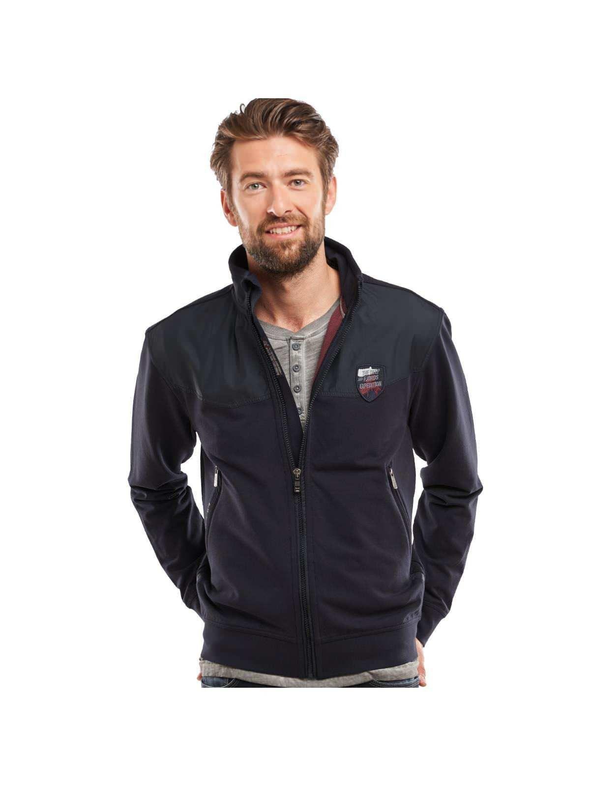 engbers Sweatshirtjacke im sportiven Design