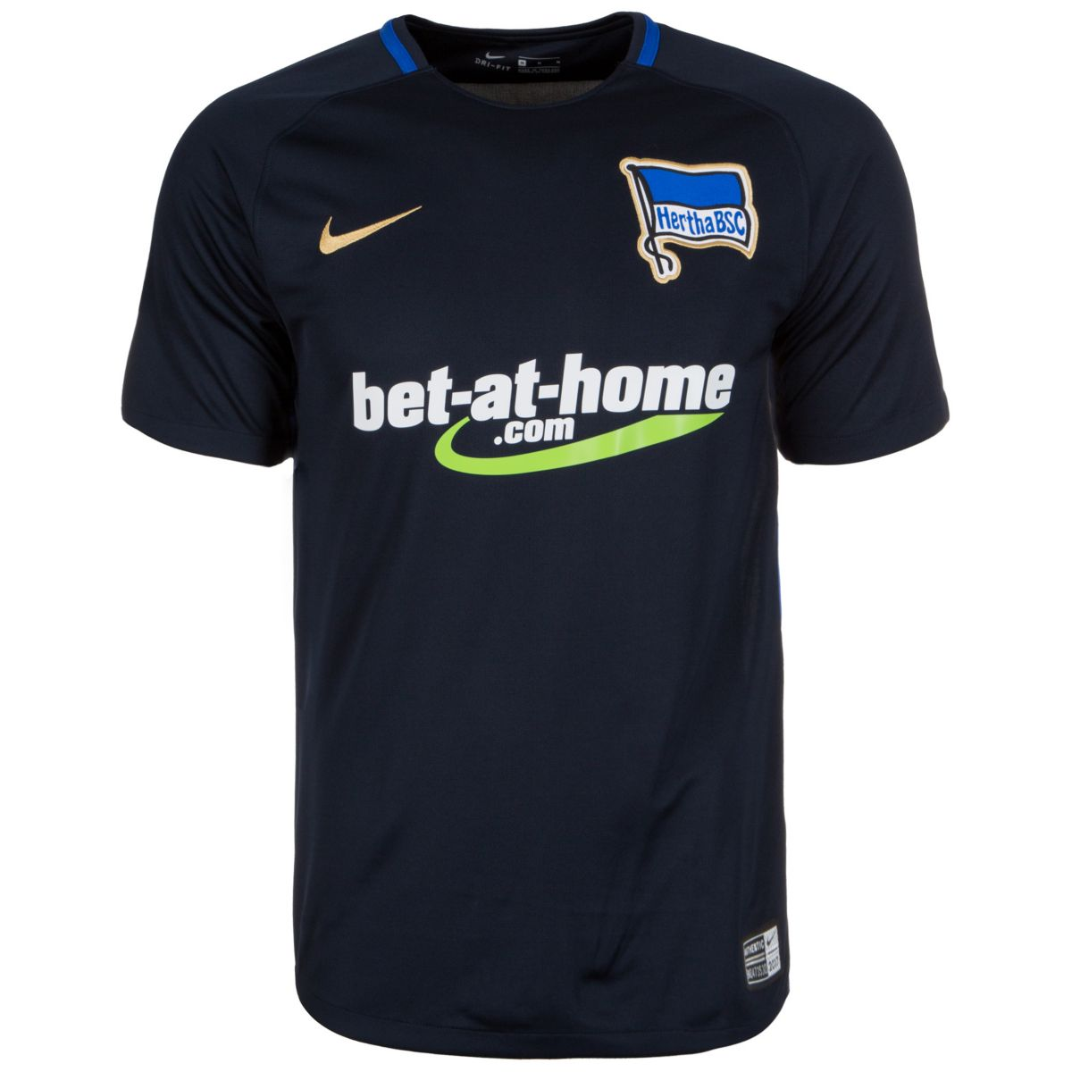 Nike Fußballtrikot »Hertha Bsc Stadium 17/18 Au...