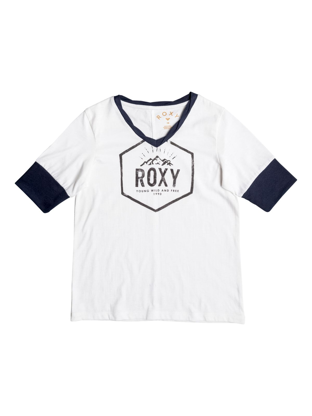 Roxy T-Shirt mit 3/4 Ärmeln »Fleeting Moments«