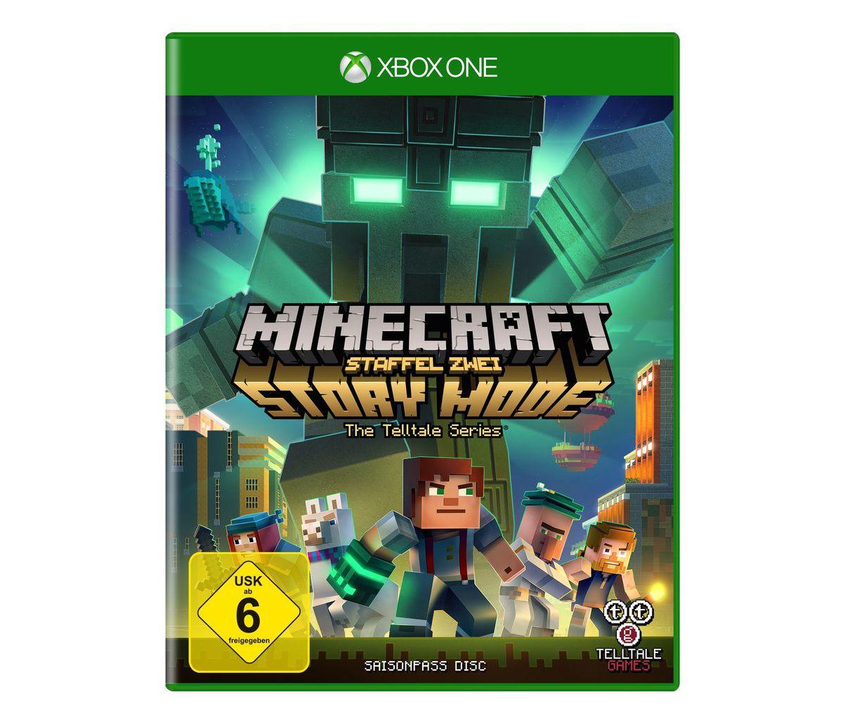 U&I XBOX One - Spiel »Minecraft Story Mode - Se...