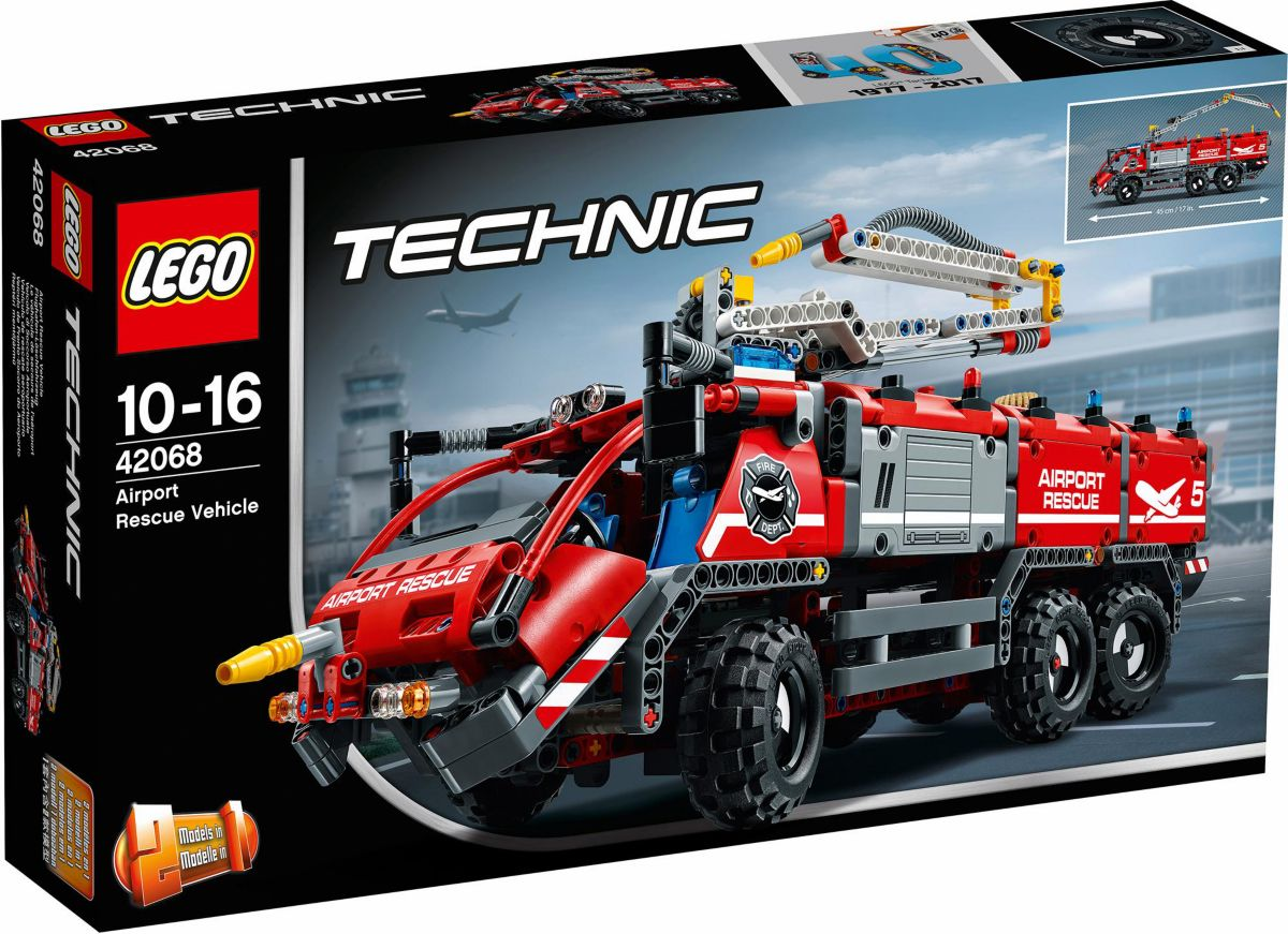 LEGO® Flughafen-Löschfahrzeug (42068), »LEGO® T...