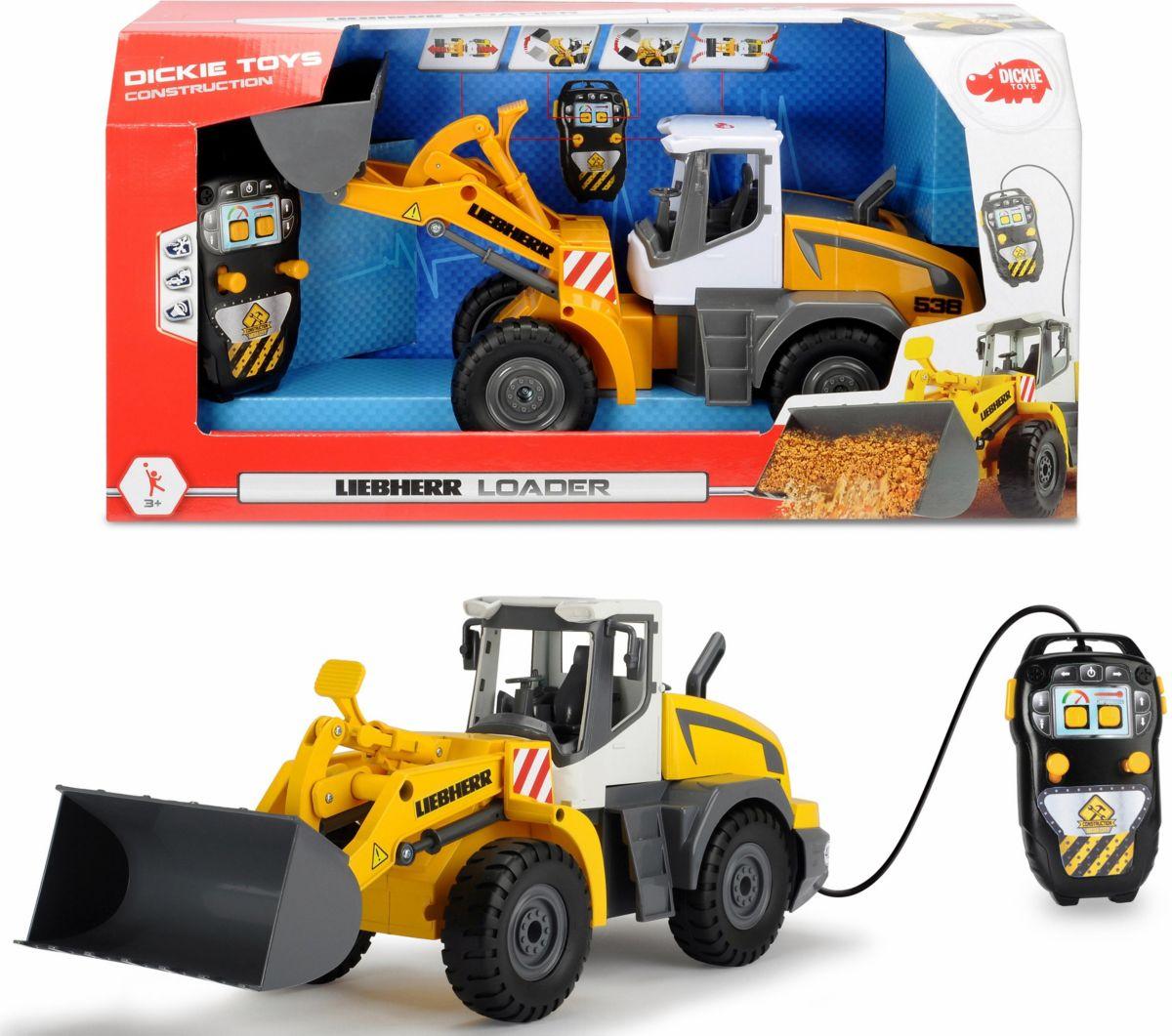 Dickie Toys Spielzeug Radlader motorisiert, »Li...