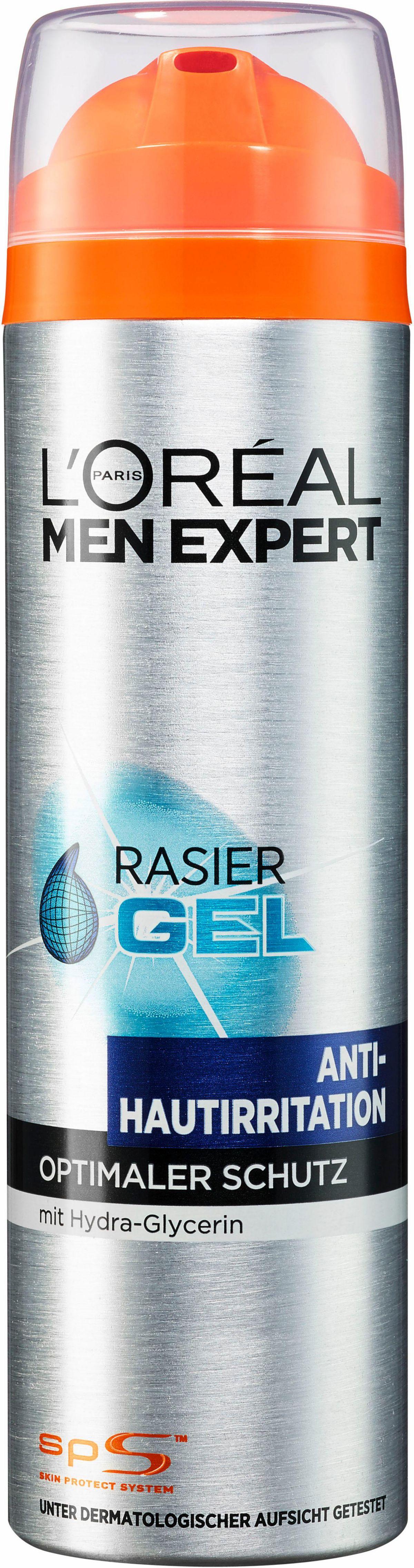 L´Oréal Paris Men Expert, »Hydra Energy Rasiergel Anti-Hautirritation«, Rasiergel/-schaum