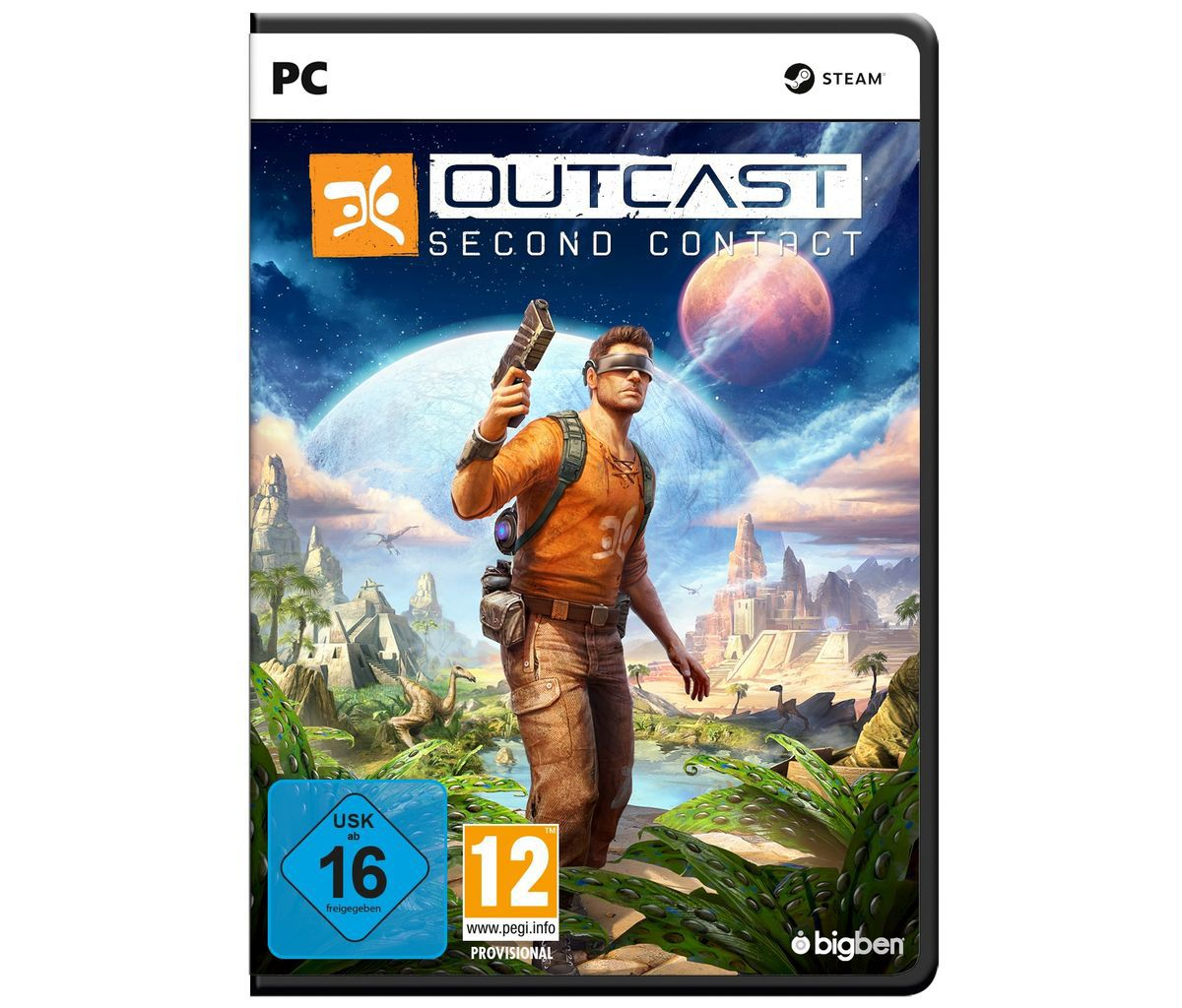 BigBen PC - Spiel »Outcast - Second Contact«