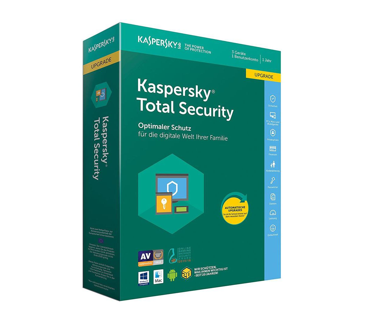 Kaspersky Software »Kaspersky Total Security Up...