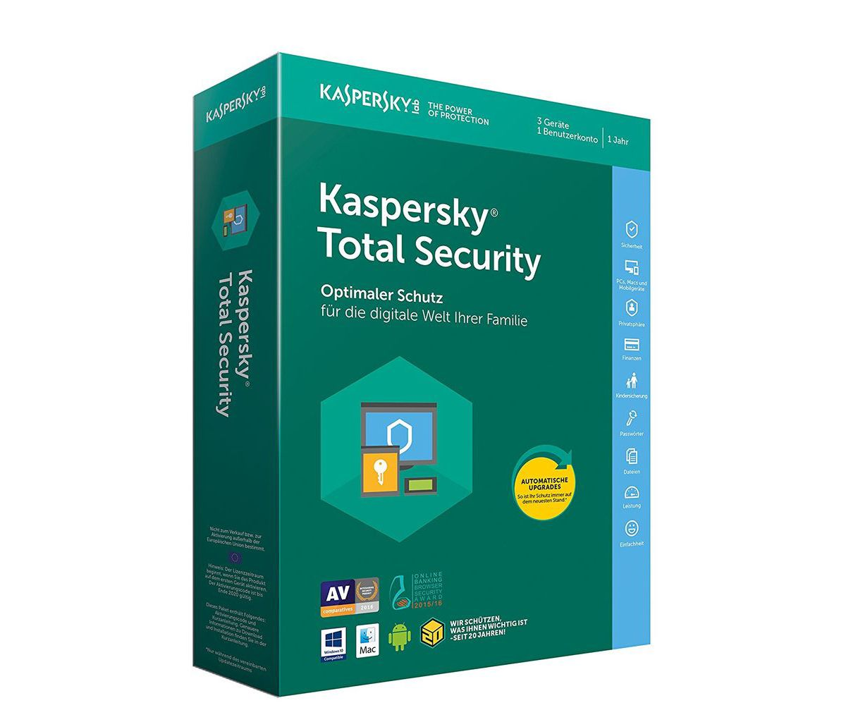 Kaspersky Software »Kaspersky Total Security (C...