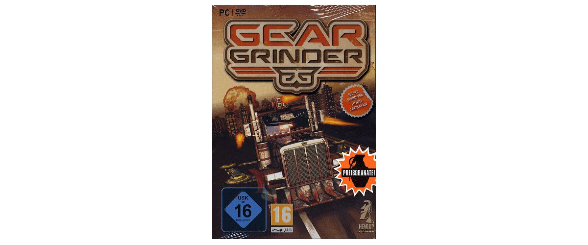 NBG GearGrinder Preisgranate »PC«