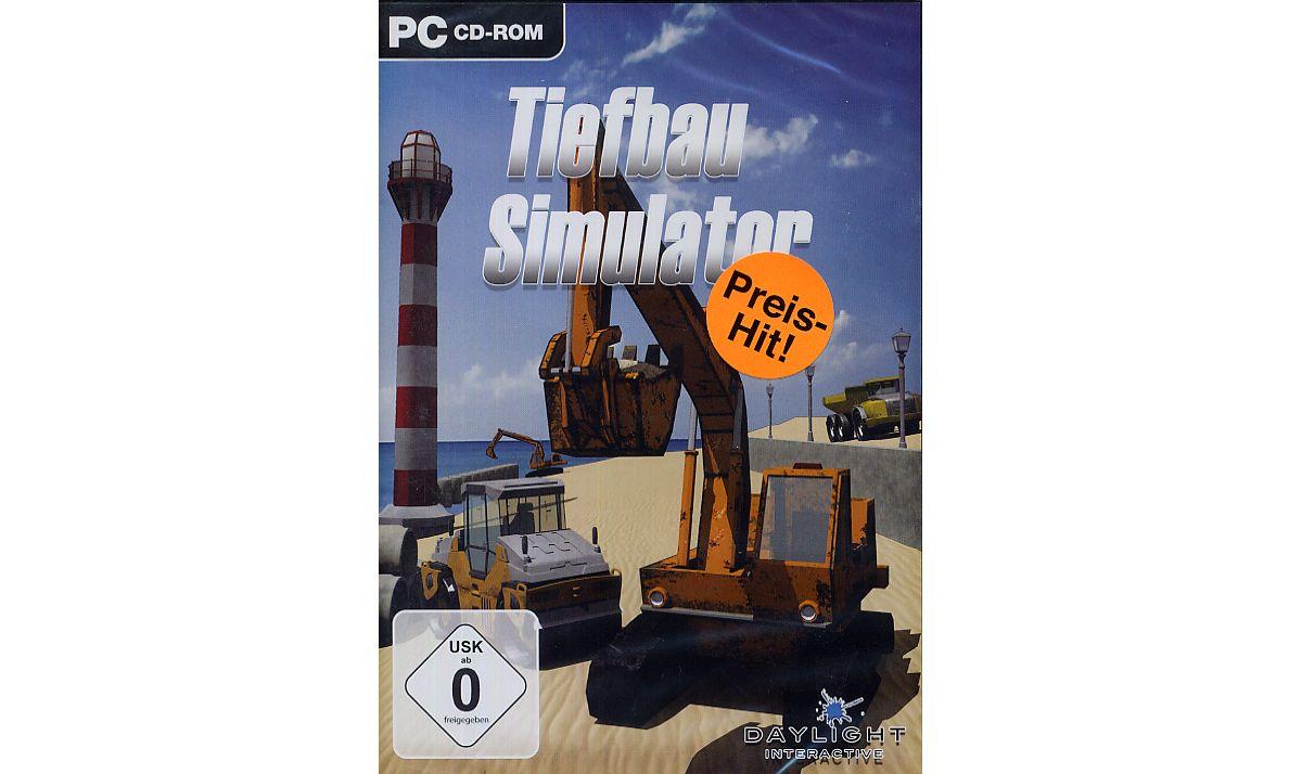 NBG Tiefbau Simulator Preis-Hit »PC«