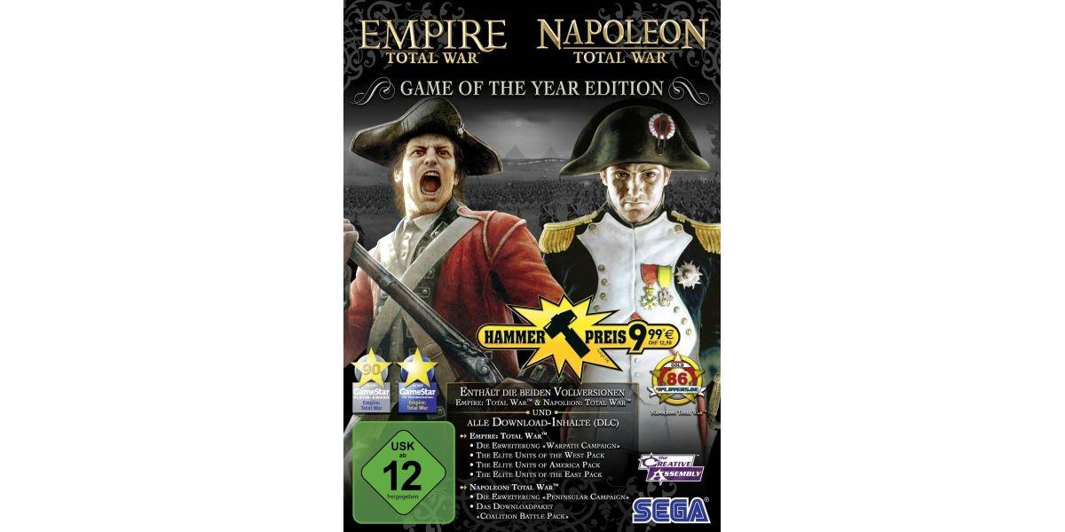 Sega Total War: Empire & Napoleon (GOTY) (Hamme...