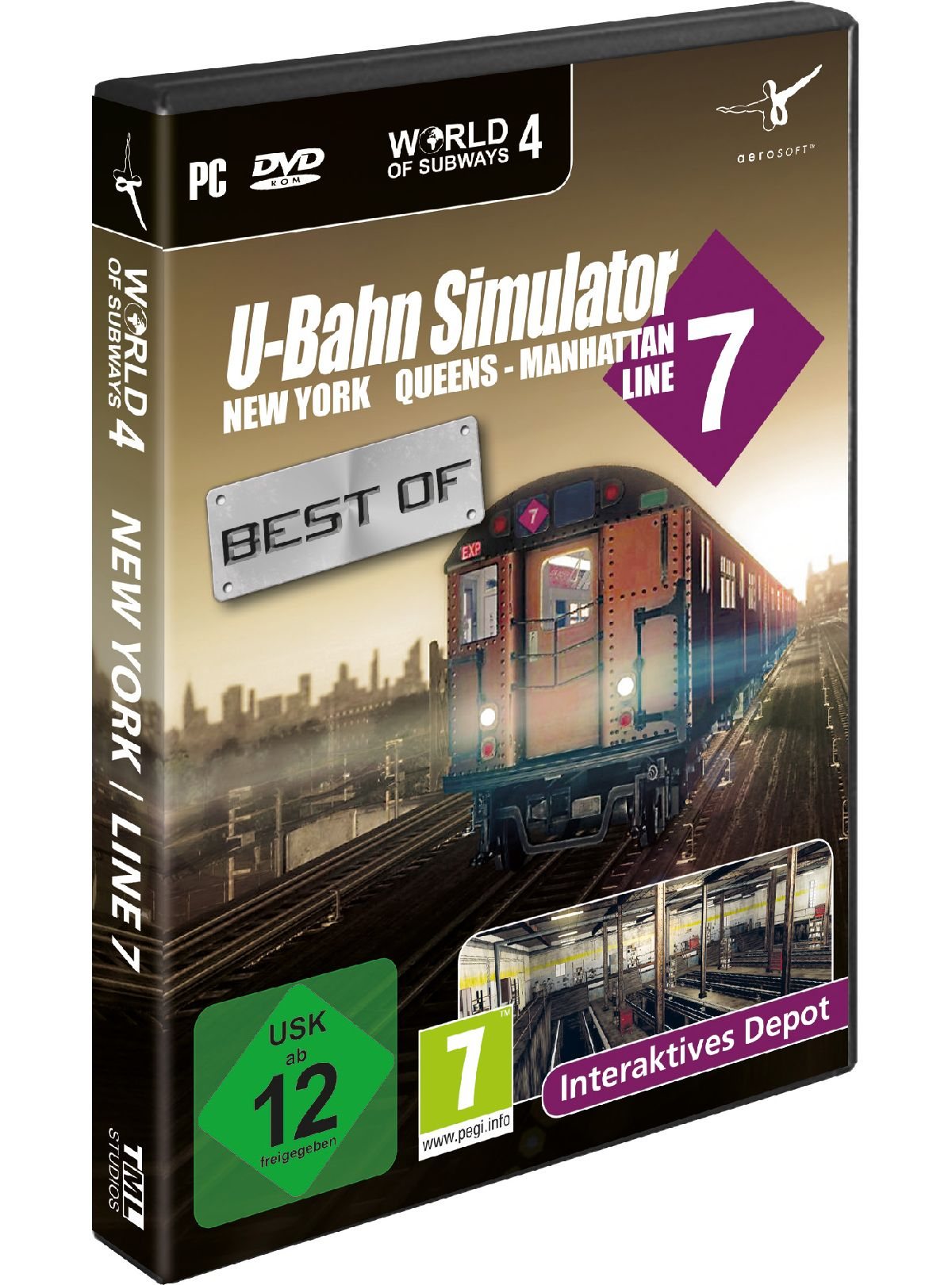 NBG Best of U-Bahn Simulator Vol. 4 New York »PC«