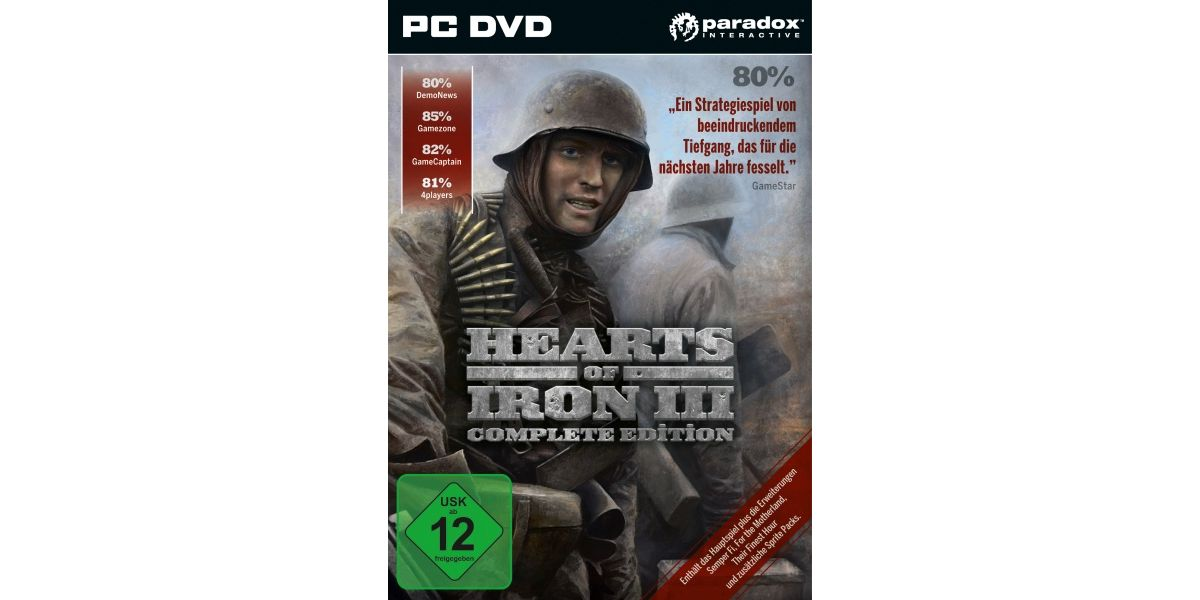 Koch Media Hearts of Iron 3 Complete Edition (H...