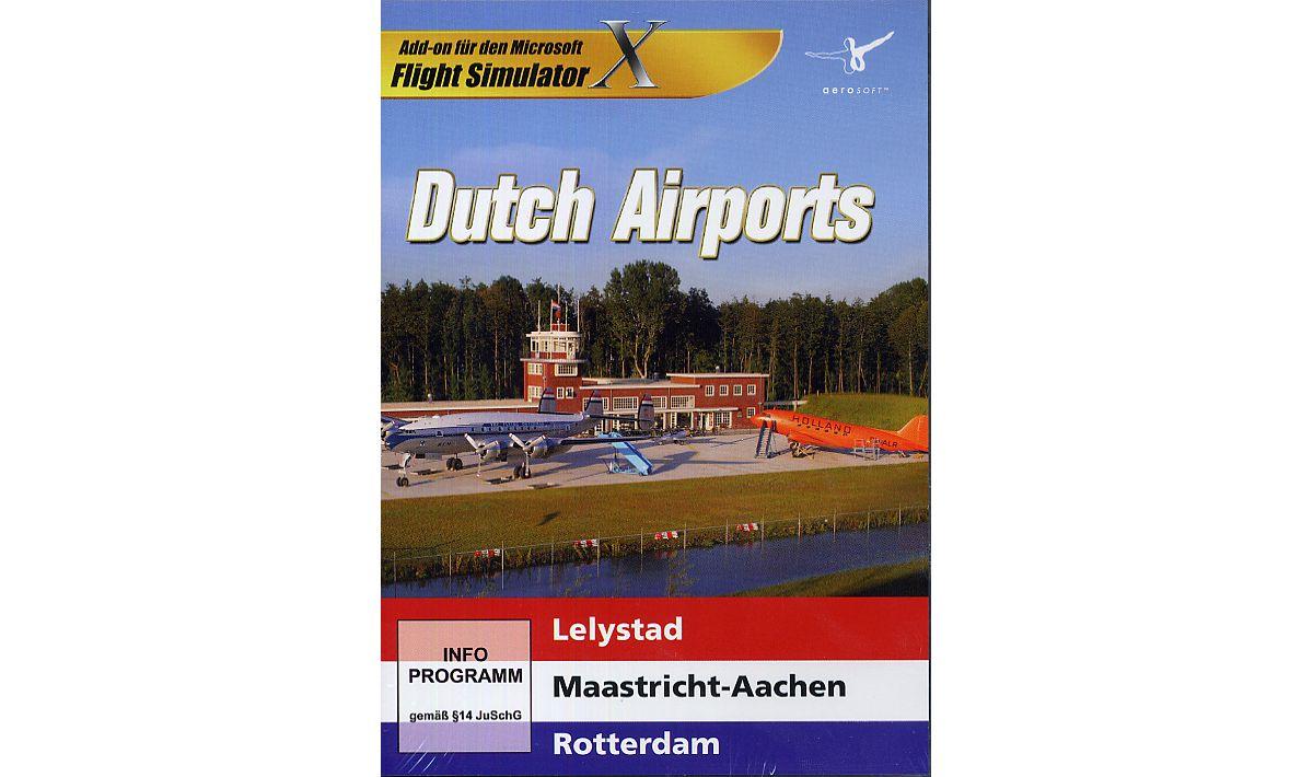 NBG FSX AddOn: Dutch Airports »PC«