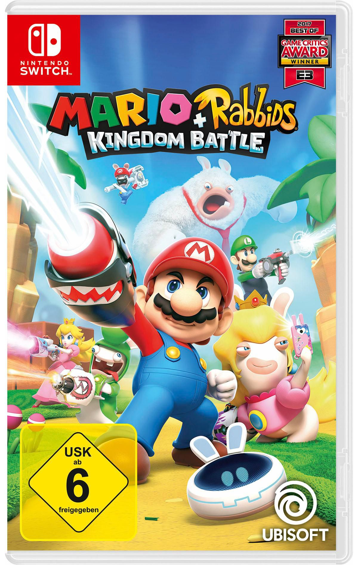Mario & Rabbids Kingdom Battle Nintendo Switch