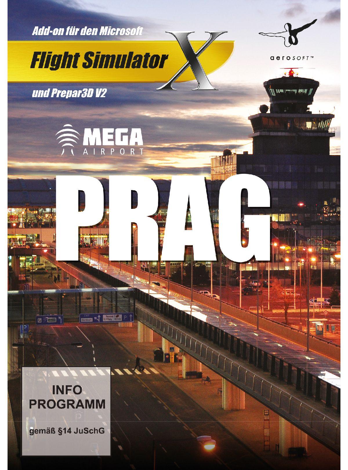 NBG FSX AddOn: Mega Airport Prag »PC«