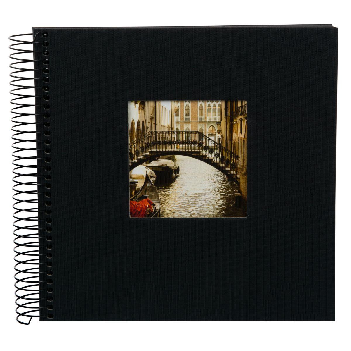Goldbuch Spiral-Album »Bella Vista schw. 20x20 40 e Seiten Spiral 12767«
