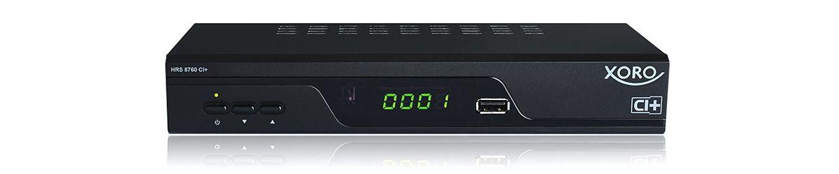 XORO DVB-S2 SAT-HD-Receiver PVR-ready CI+ Schac...