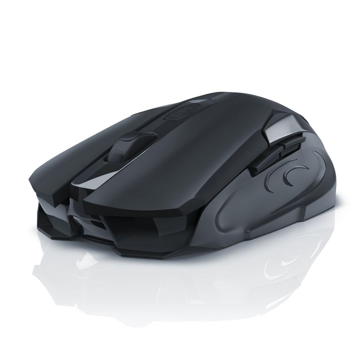 CSL 2,4GHz Wireless Gaming Maus mit 3200 DPI »H...
