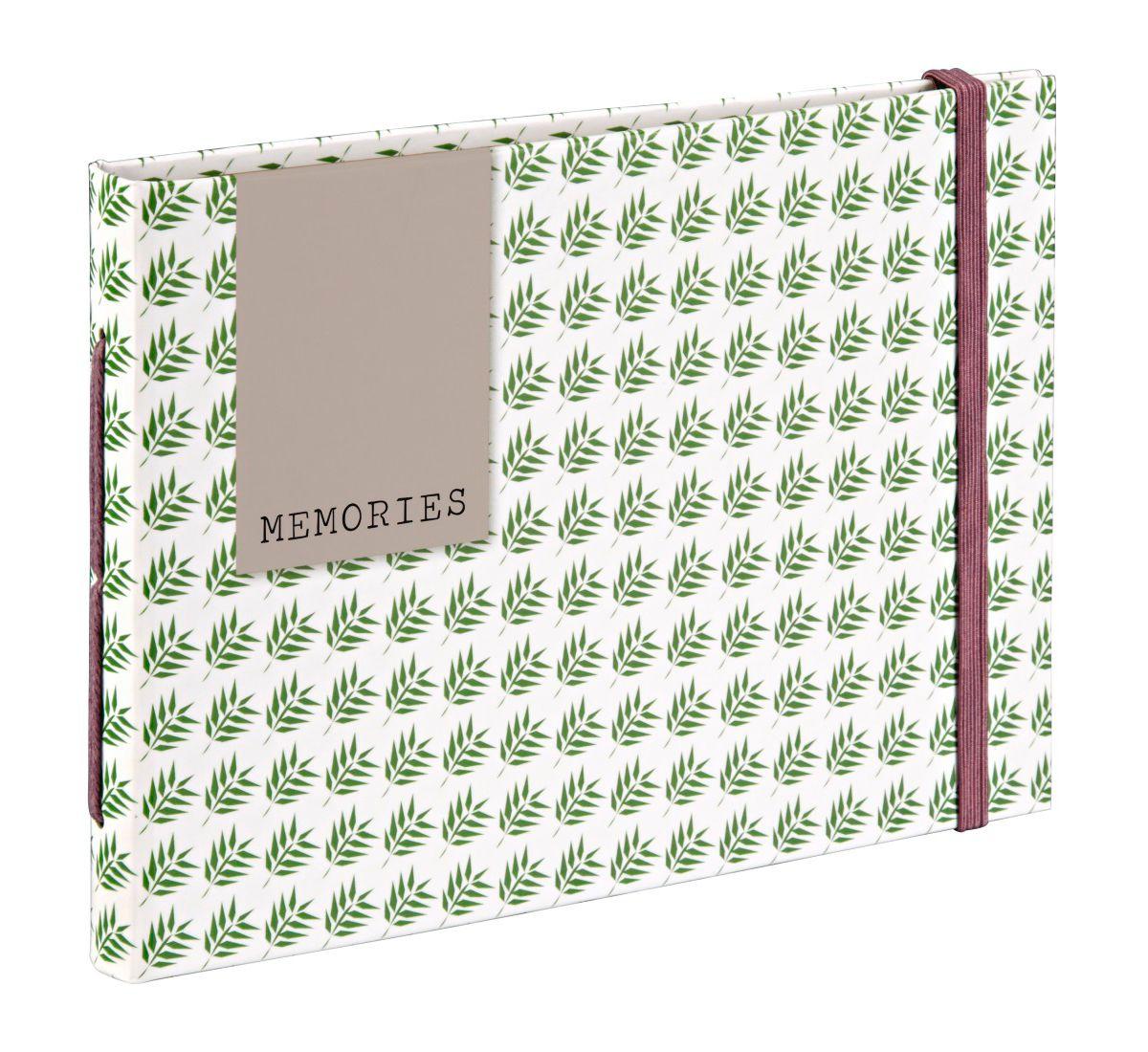 Hama Buchalbum Fern, 18x13 cm, 20 braune Seiten