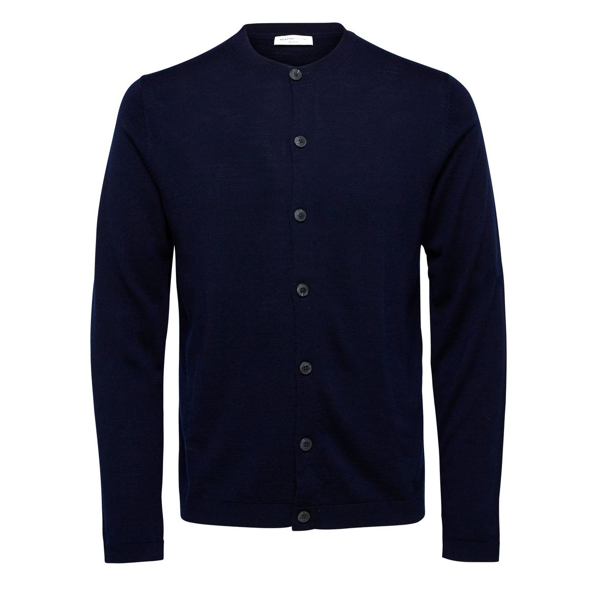 Selected Homme Merinowoll- Strick-Cardigan