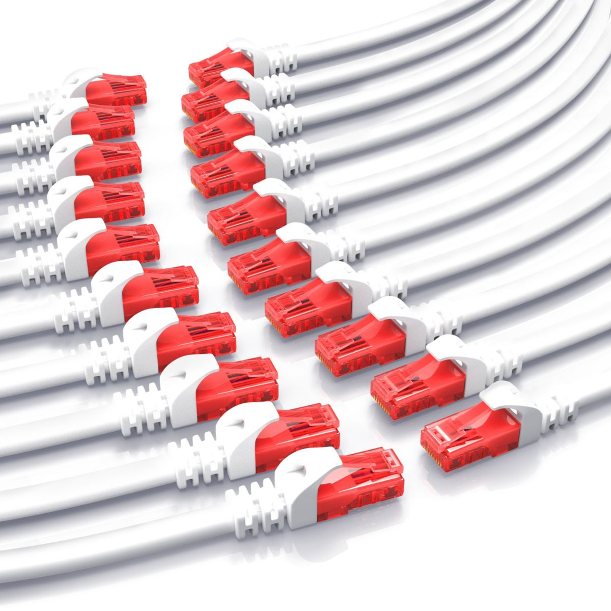 CSL CAT.6 Gigabit Ethernet LAN Patchkabel (RJ45...