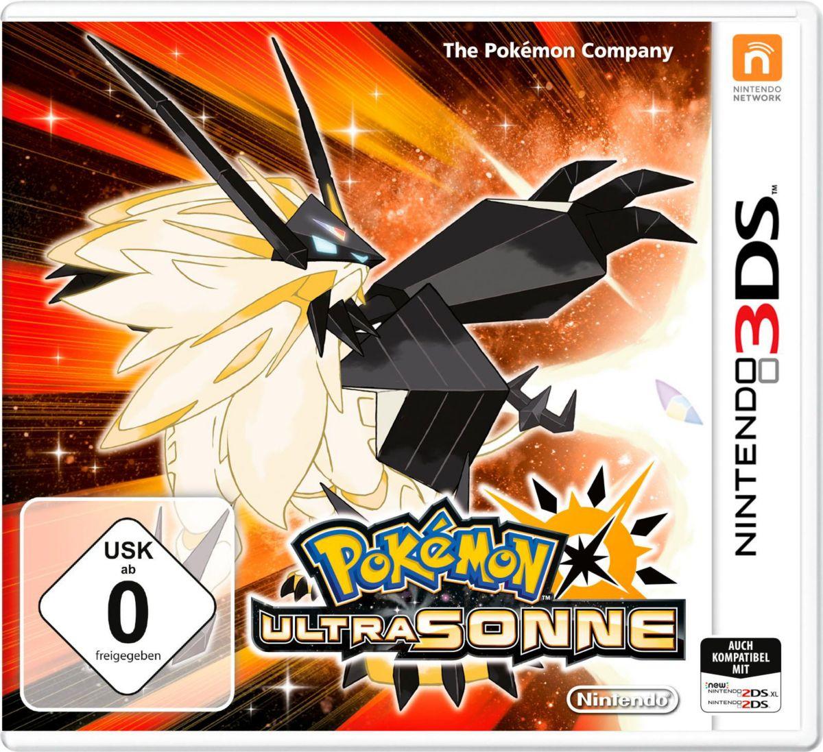 Pokémon Ultrasonne Nintendo 3DS