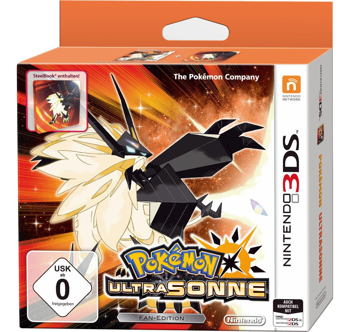 Pokémon Ultrasonne - Fan-Edition Nintendo 3DS