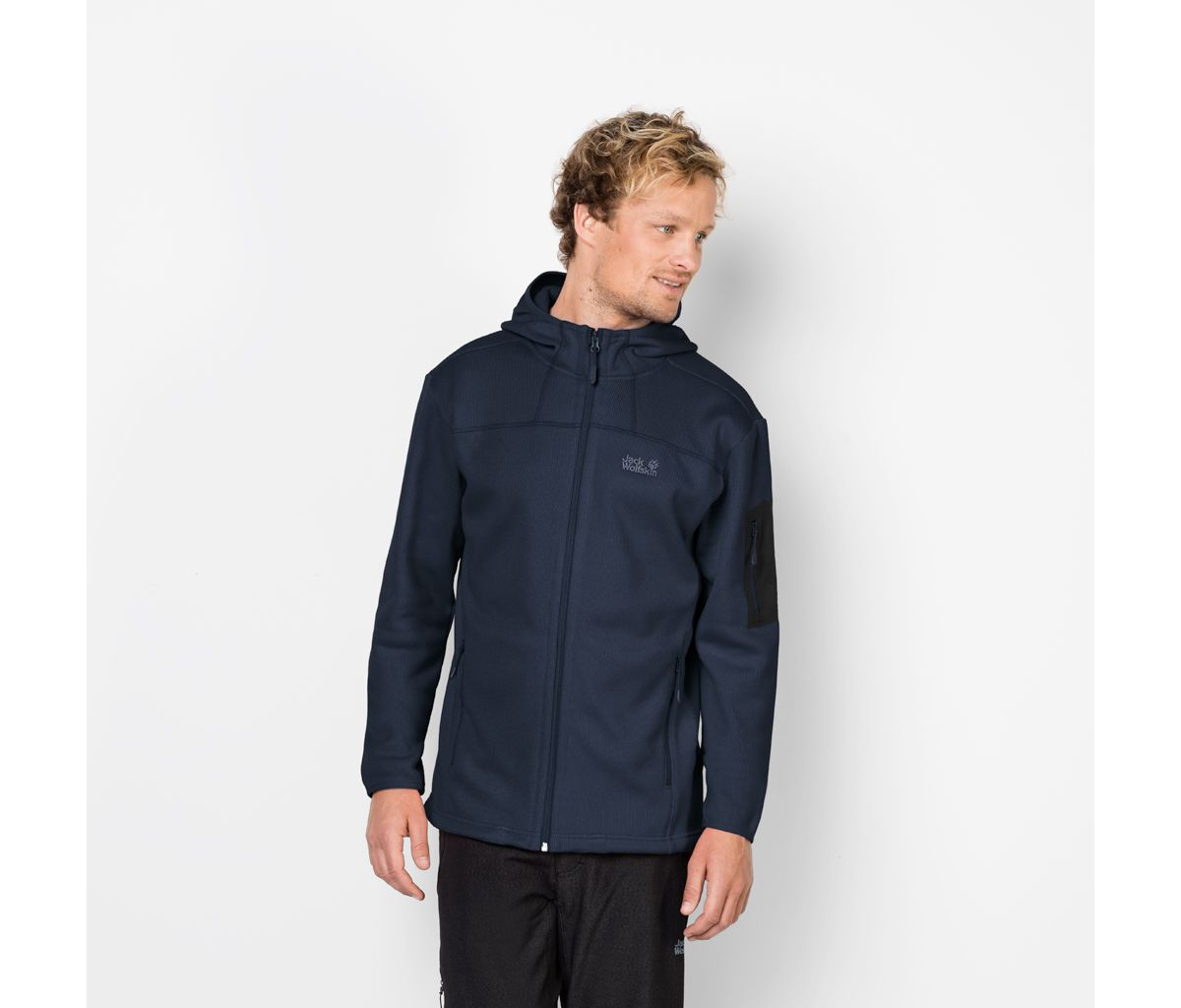 Jack Wolfskin Fleecejacke »CASTLE ROCK HOODED J...