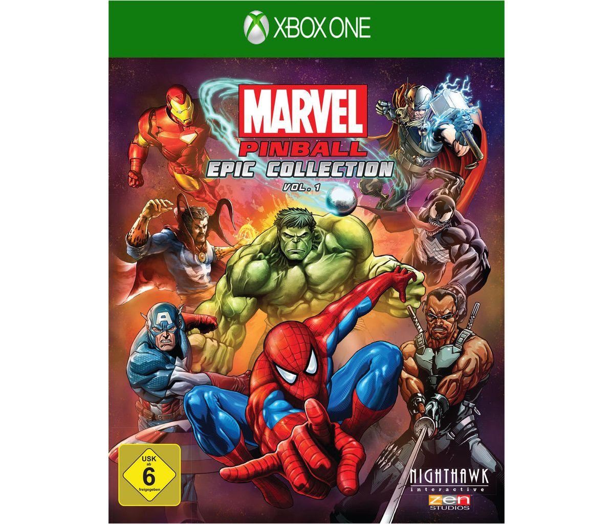 Telltale Games XBOX One - Spiel »Marvel Pinball...