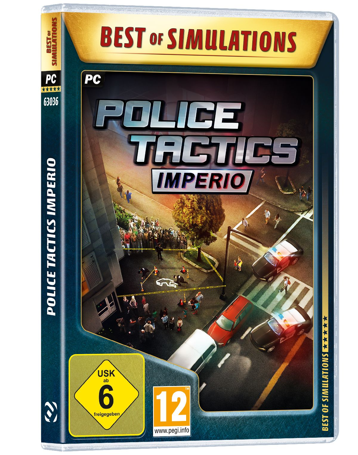 Astragon Police Tactics: Imperio (Best of Simul...