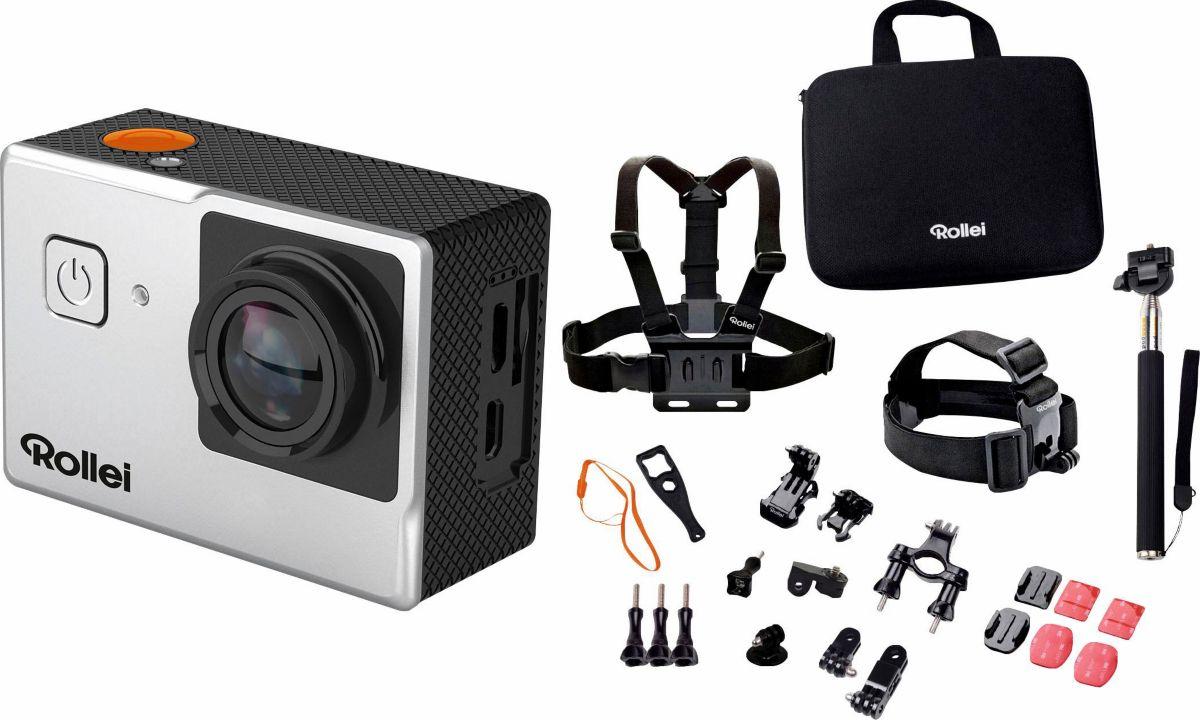 Rollei 525 + Outdoor-Set 4K (Ultra-HD) Actionca...
