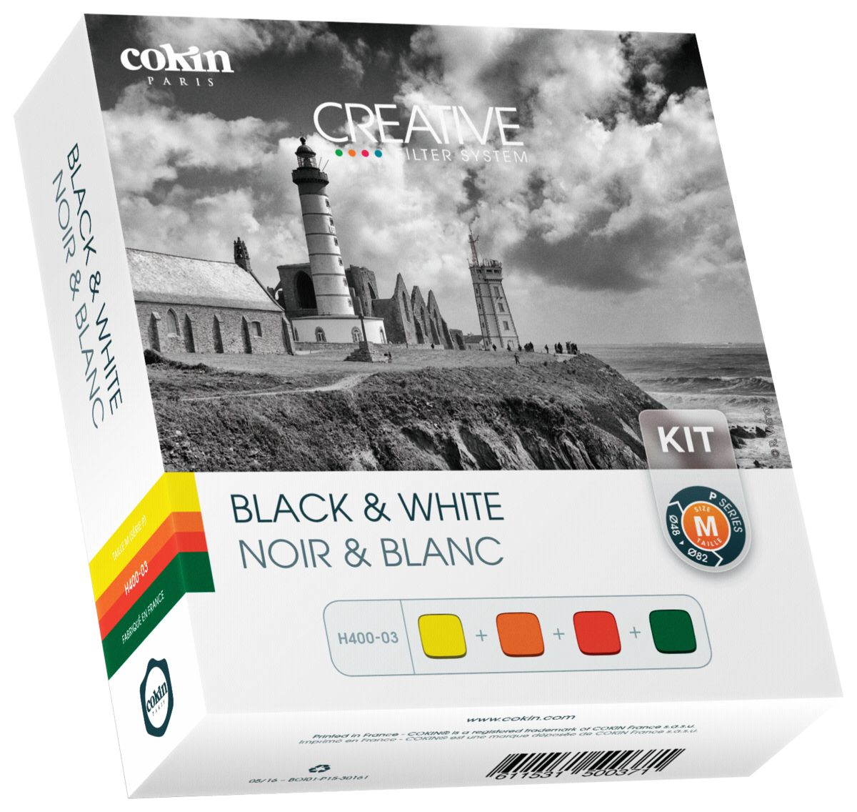 Cokin Filter-Set »H400-03 Black & White Kit ink...