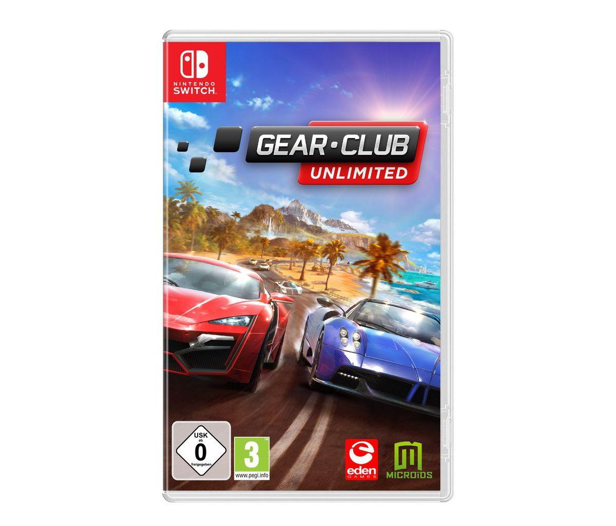 Astragon Nintendo Switch - Spiel »Gear Club Unl...
