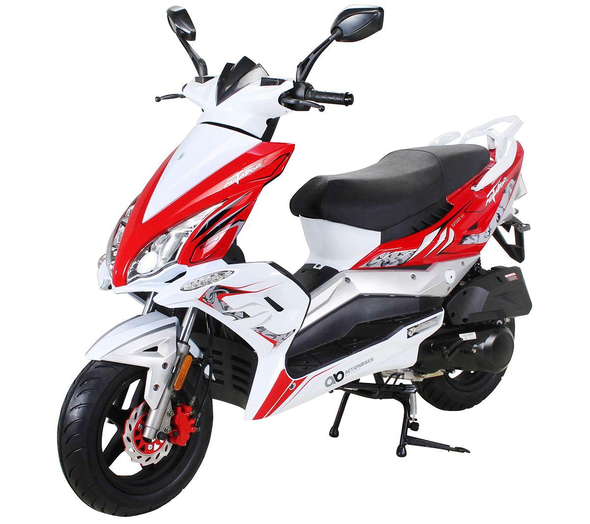ACTIONBIKES MOTORS Motorroller »Matador JJ125QT...