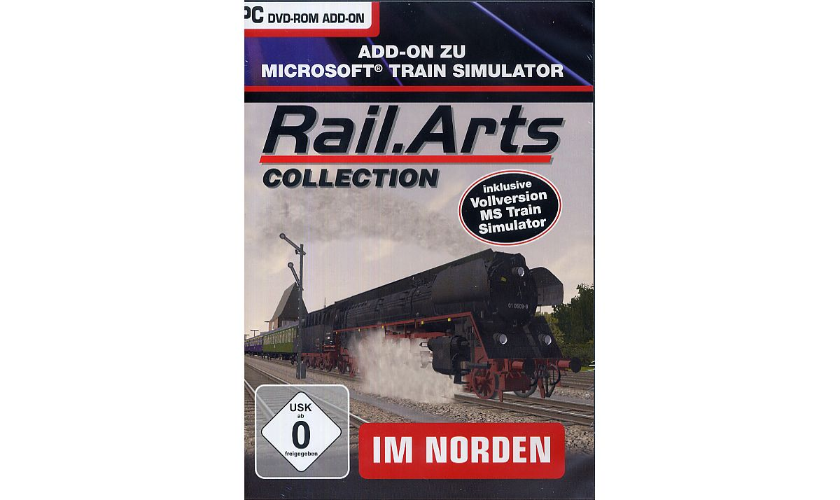 NBG RailArts Collection - Im Norden MSTS + 3 St...