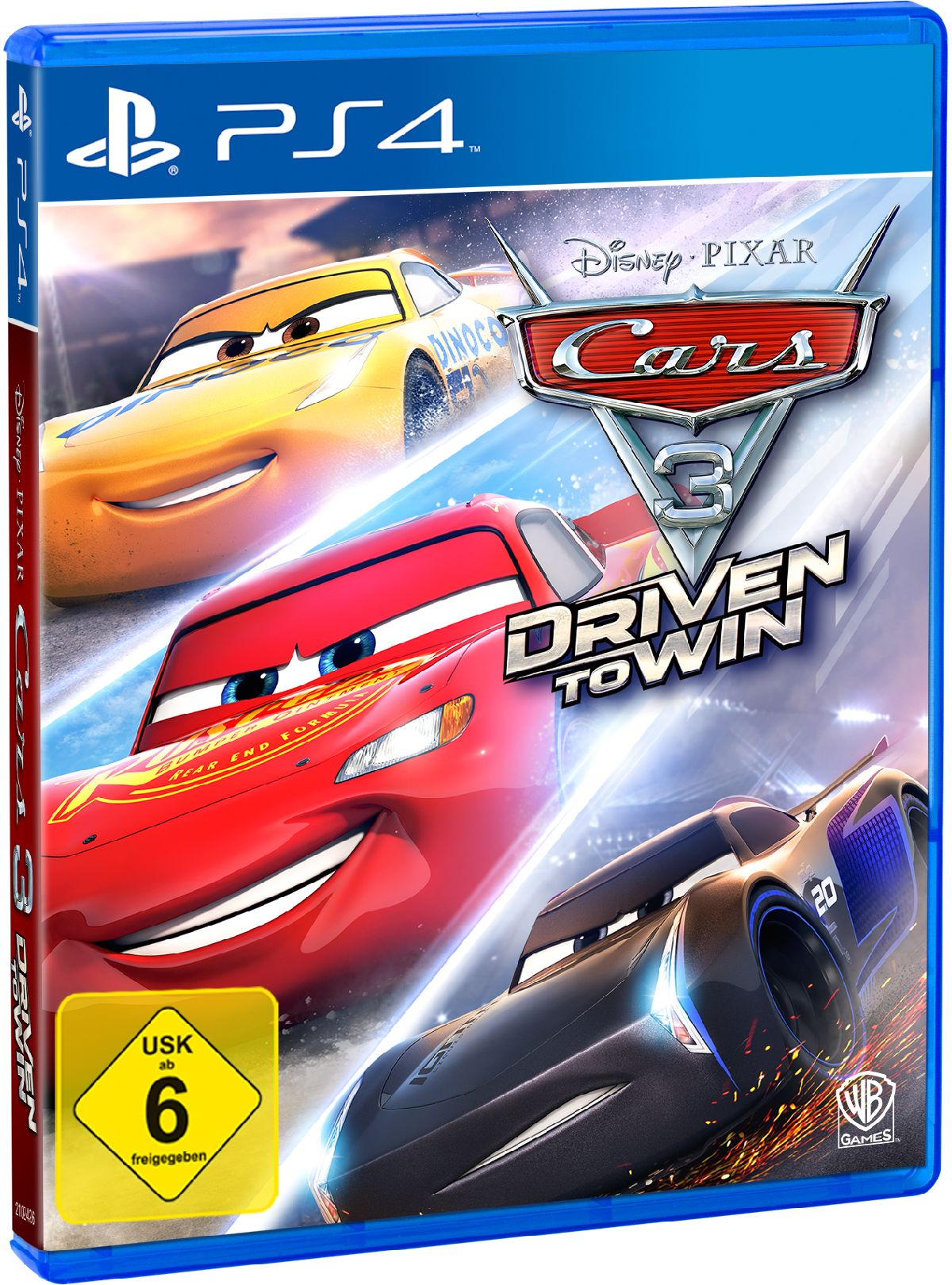 Warner Games Cars 3: Driven to Win »PS4«