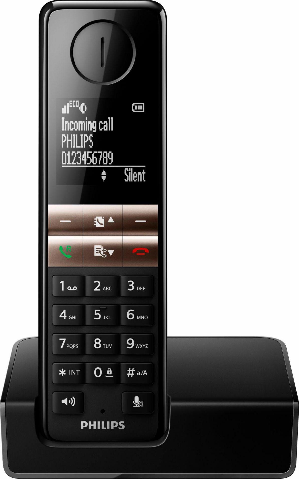 Philips D4601 Schnurloses DECT Telefon