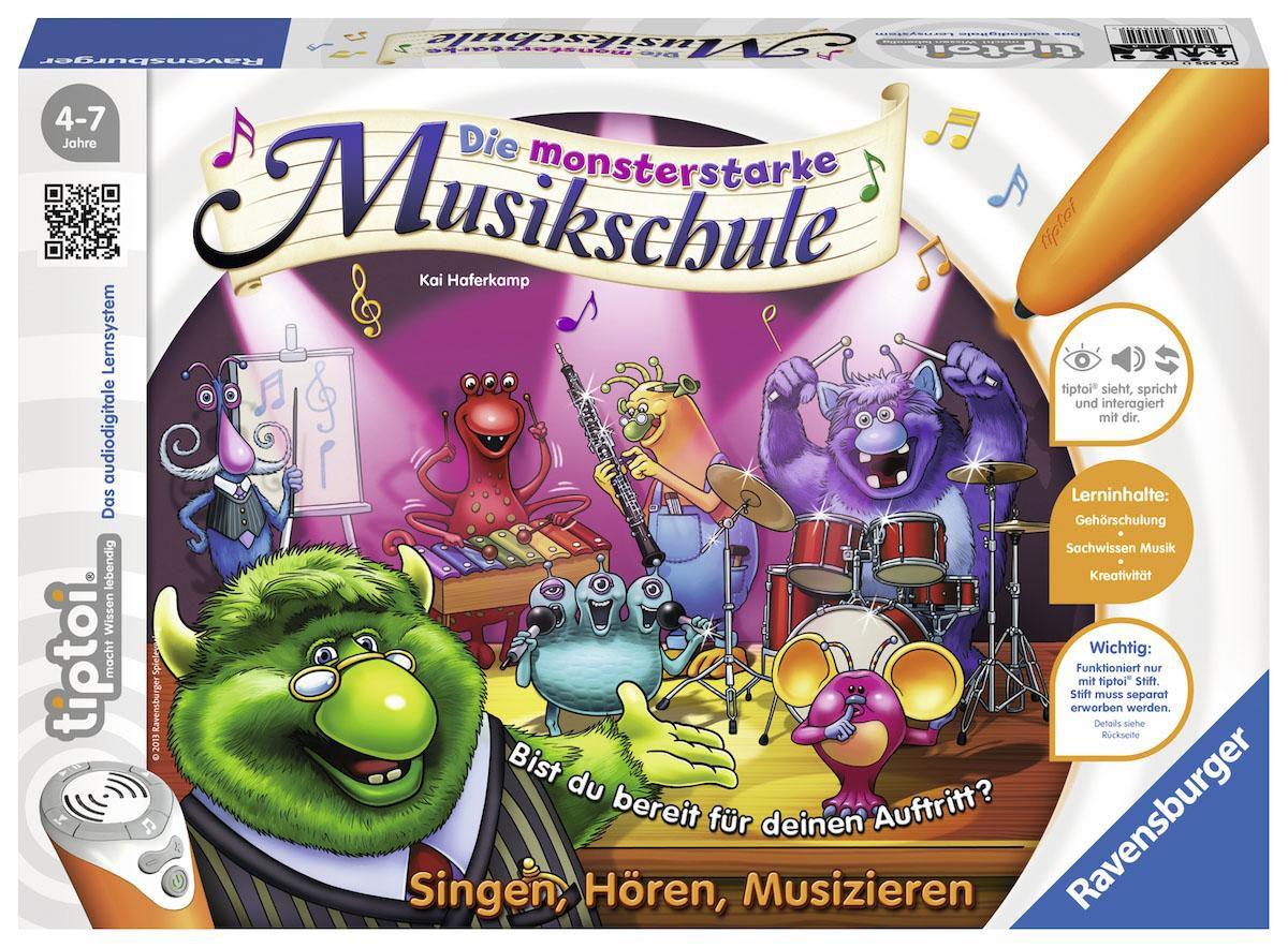 Ravensburger Lernspiel, »tiptoi® Die monstersta...