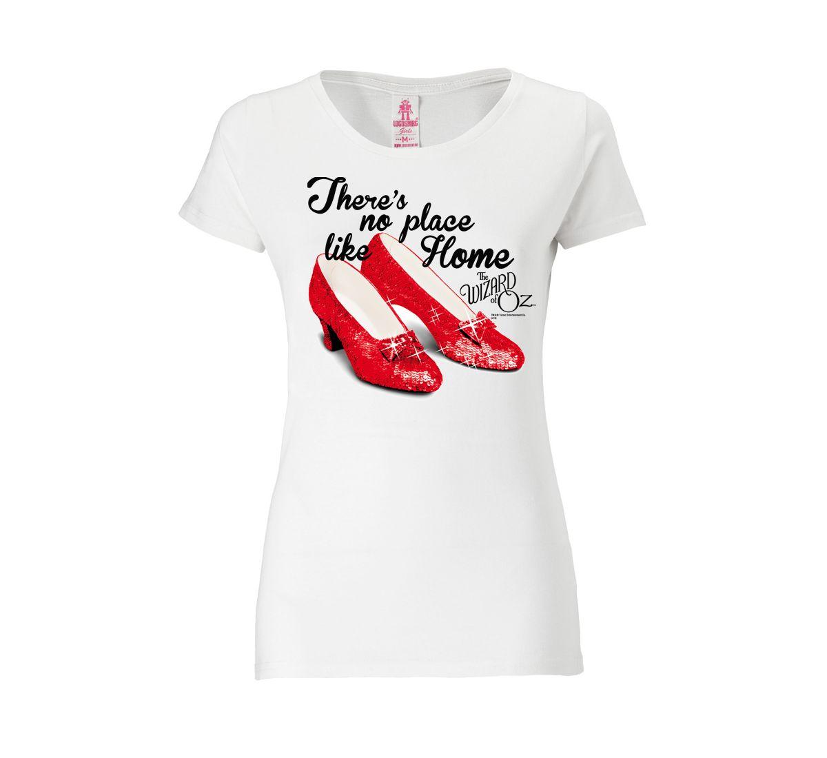 27a1c76a LOGOSHIRT Damenshirt »There`s no place like home - Der Zauberer von Oz«