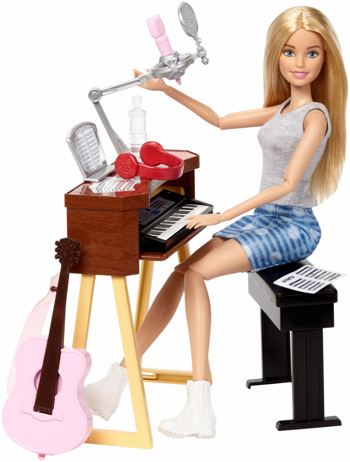 Mattel Puppe und Spielset , »Barbie Musikerin«