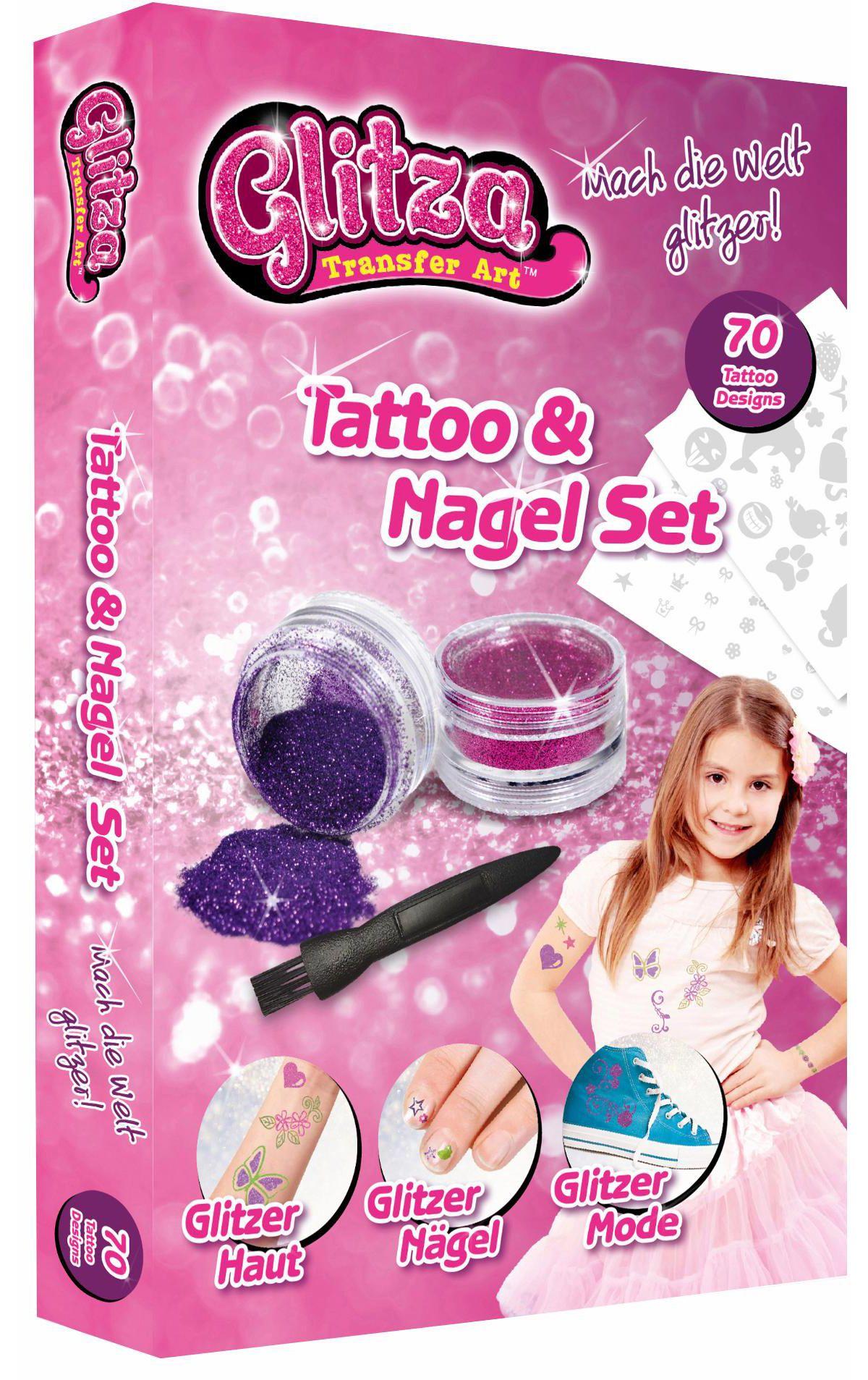 knorr toys Kreativset, »Glitza Tattoo + Nagelse...