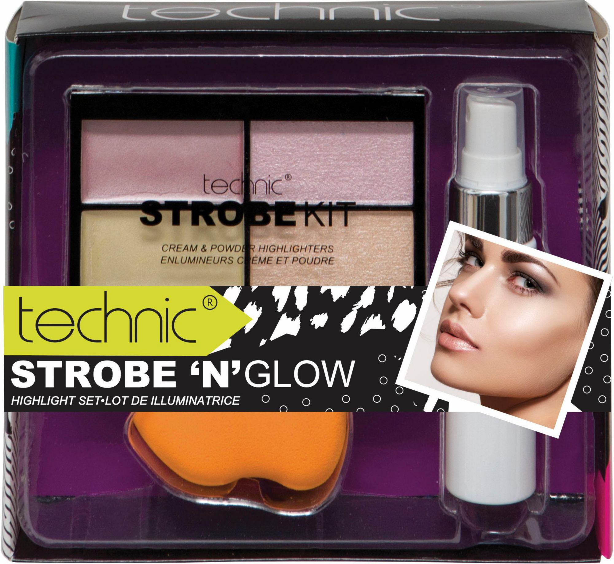 »Strobe ´n´ Glow«, Make Up Set