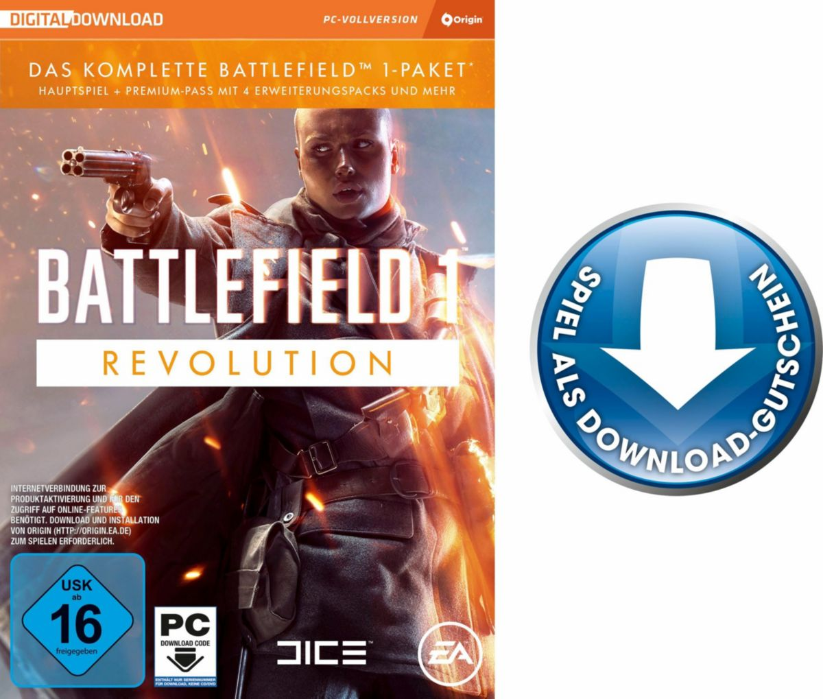 Battlefield 1-Revolution Edition (CIAB) PC