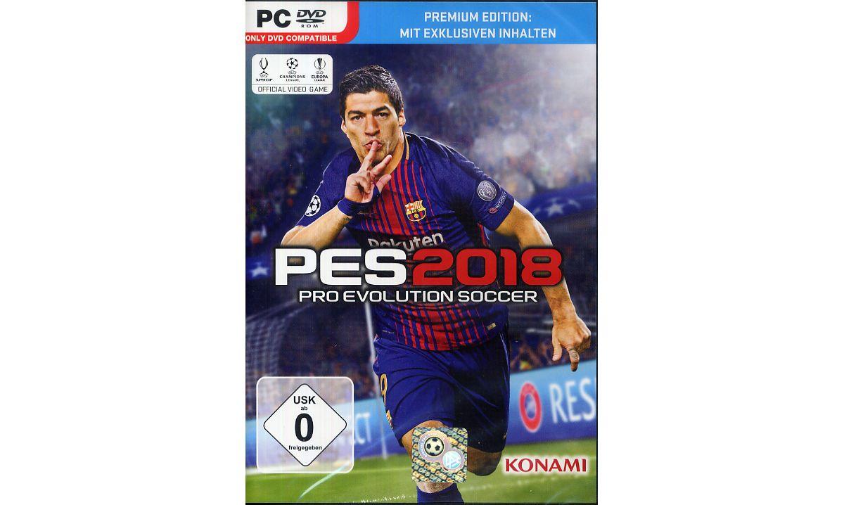 Konami Pro Evolution Soccer 2018 Premium Editio...