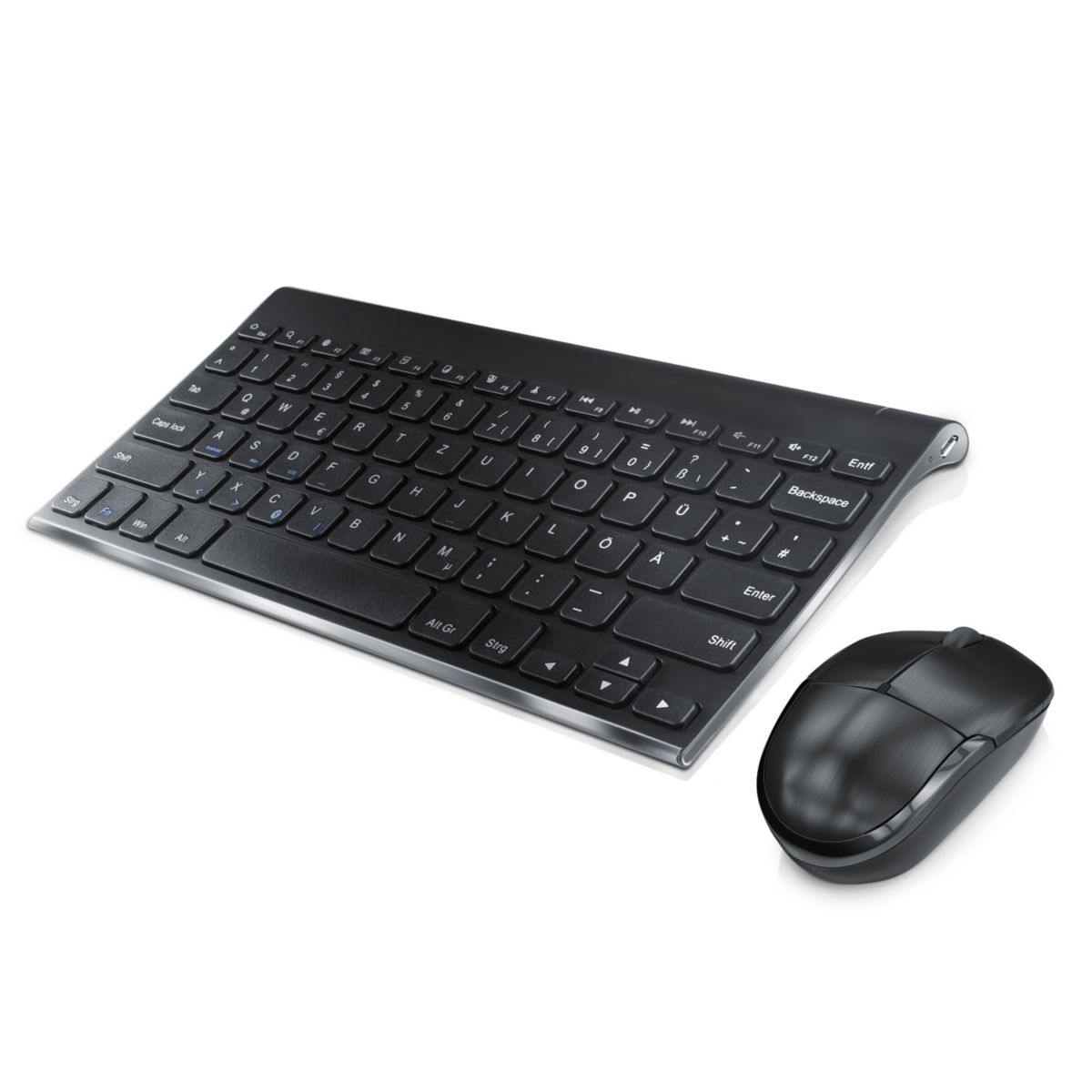 CSL Bluetooth Maus + Tastatur Set mit Tablet St...