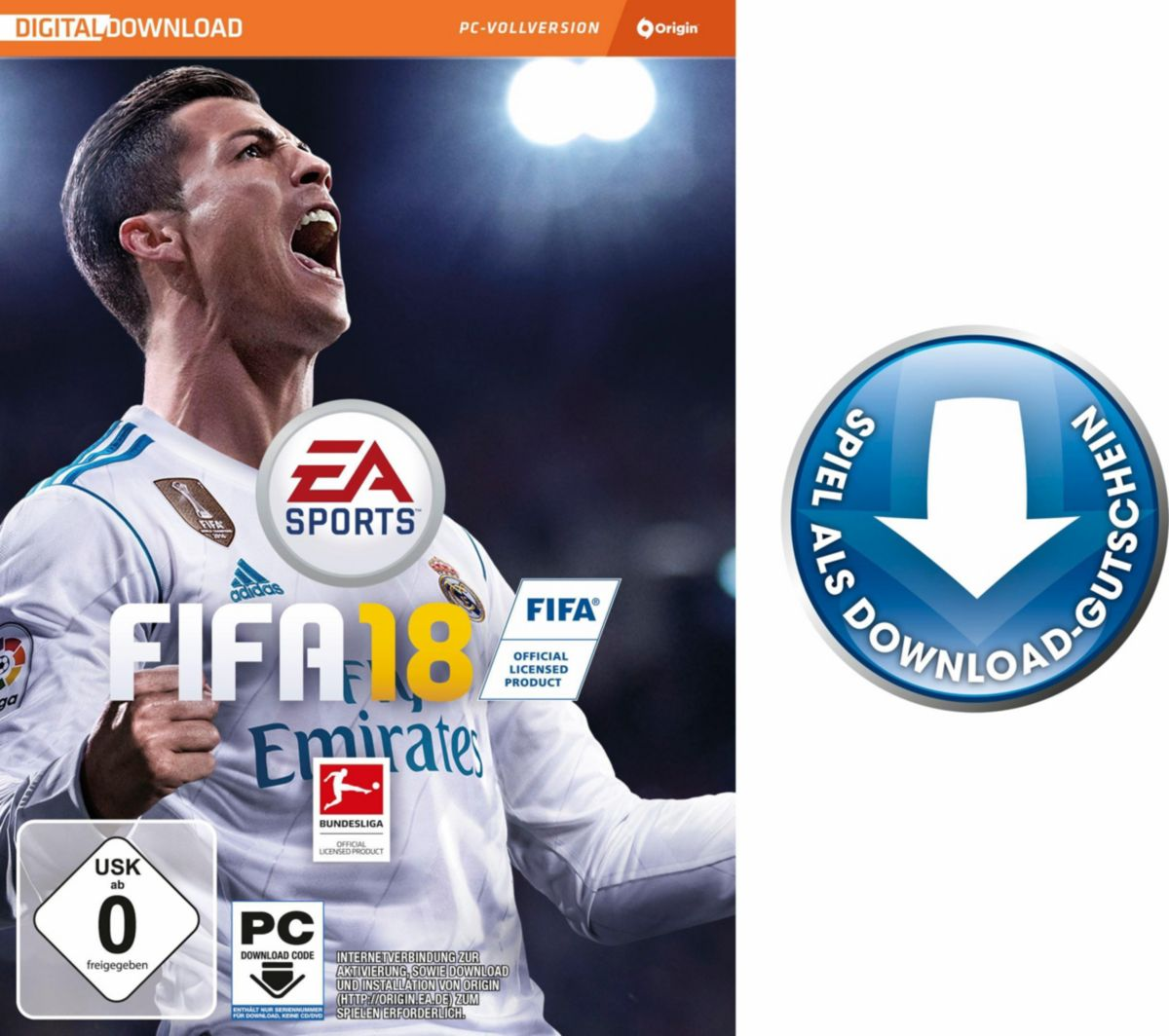 Fifa 18 (Code in the Box) PC