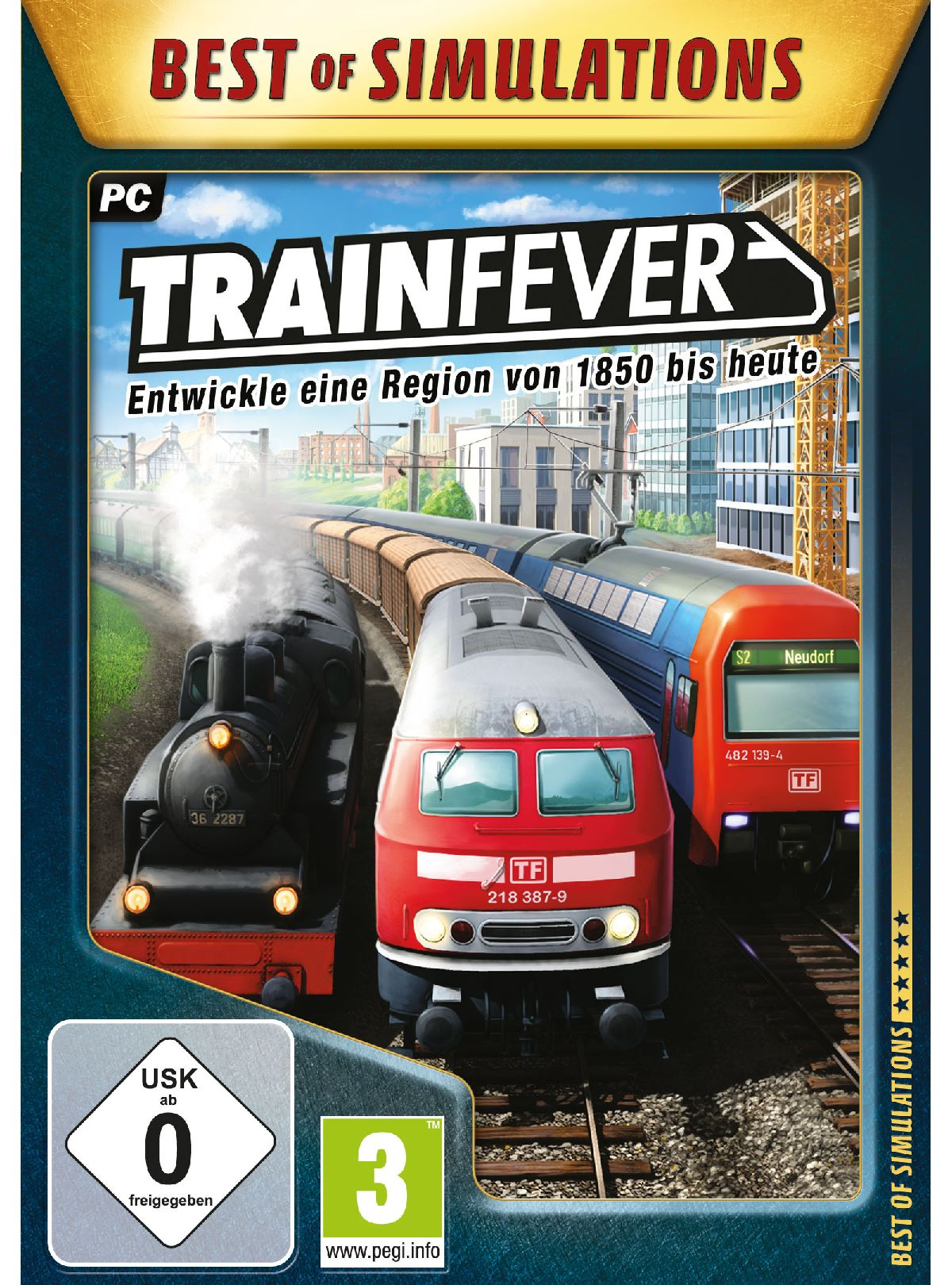 Astragon Train Fever (Best of Simulation) »PC«
