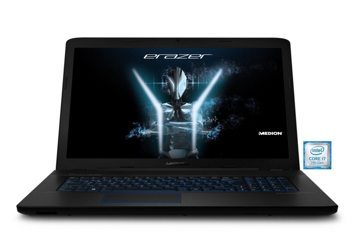 MEDION® ERAZER P7647 Gaming-Notebook »Intel Core i7, 43,9 cm (17,3\´´),  256GB + 1 TB,16 GB«´´